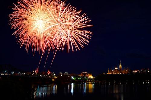 Canada Day Fireworks 2012 2