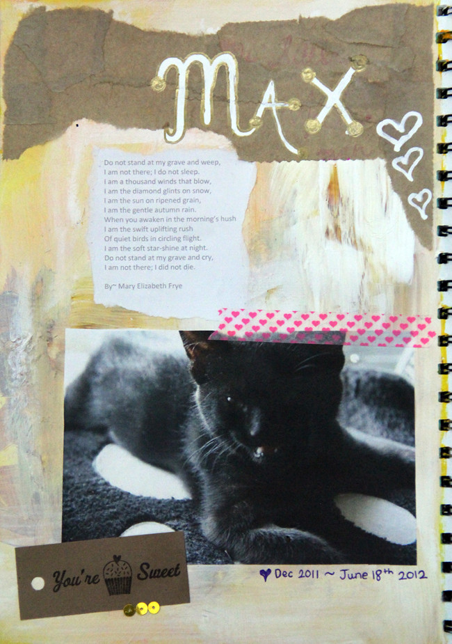 Max~ Art Journal page  #4