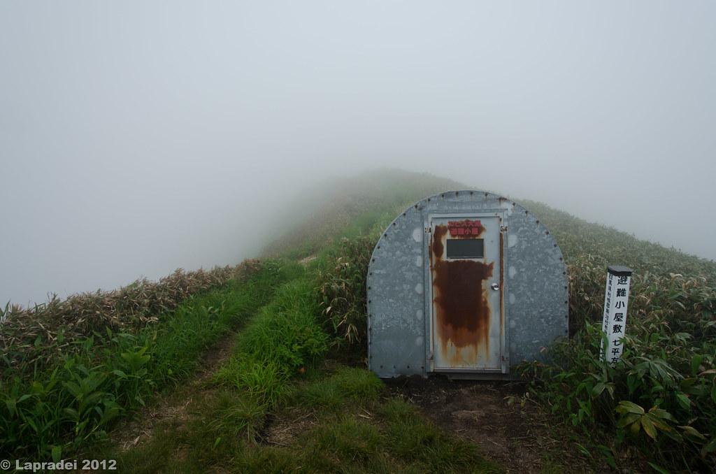 エビス大黒の避難小屋