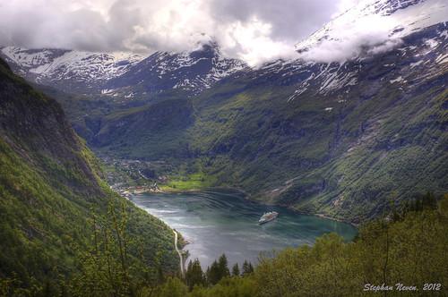 norway norge unesco fjord bridalveil sevensisters hdr friar geiranger geirangerfjord noorwegen suitor ørnevegen sunrays5