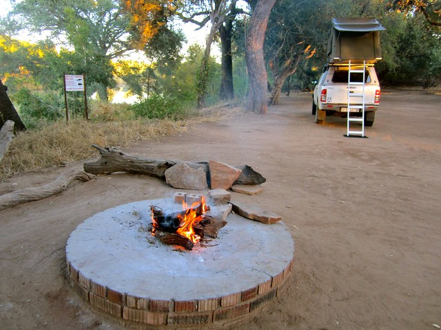 camping in botswana, Africa