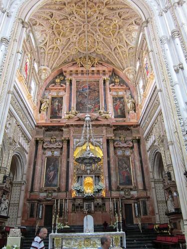 キリスト教の祭壇@コルドバのメスキータ  2012年6月3日 by Poran111