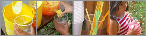 Lemonade stand collage 3