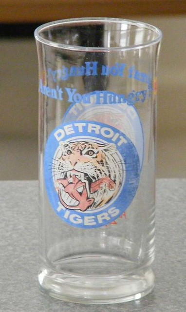Detroit Tiger eats the Cleveland Indian