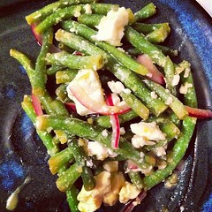 Lemony Green Bean Salad = Tasty! Yay!