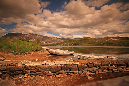 Loch Stack and Arkle. by Gordie Broon.