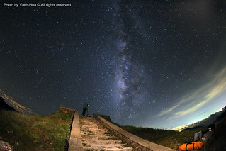 The Milky Way Galaxy @ Mt. Hehuan, Nantou county │ July 15, 2012