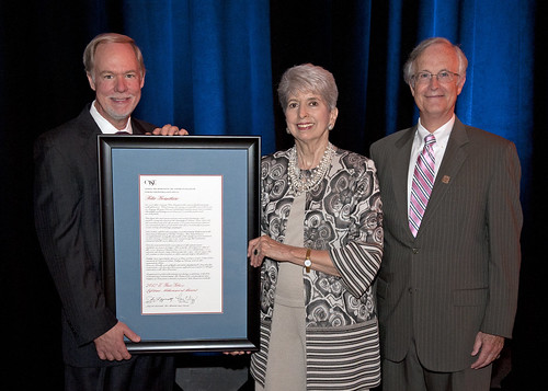 Rita Bornstein Receives the 2012 E. Burr Gibson Lifetime Achievement Award