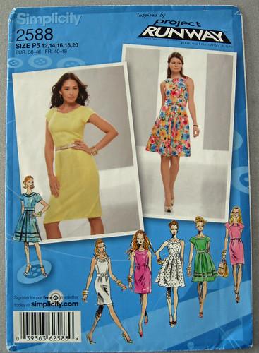 S2588 dress pattern