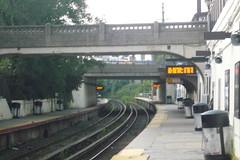 train station, rail transport, overpass, track, skyway, bridge,