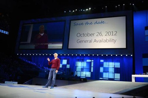 Windows 8 launch date Oct 26