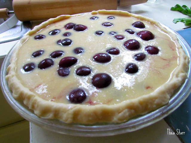Bing Cherry Custard Pie | Flickr - Photo Sharing!