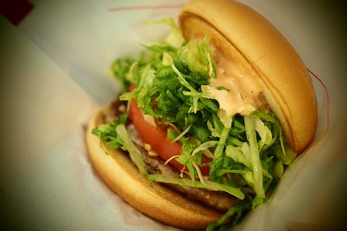 2012年7月21日の昼飯 モスバーガー
