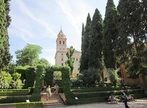 パルタル庭園とサンタマリア教会 2012年6月4日 by Poran111