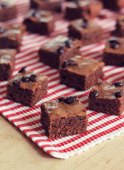 Erdnussbutter-Brownies @yumlaut.de