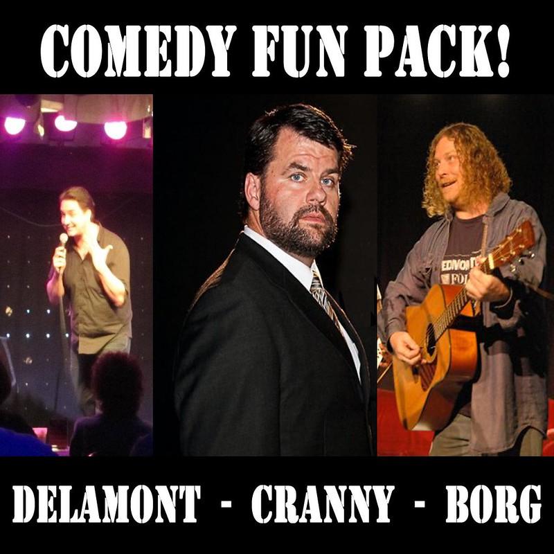 Borg Cranny Delamont Comedy Variety Pack