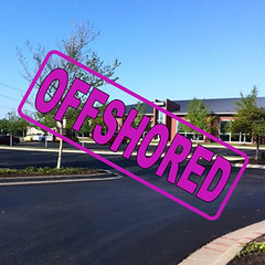 T-Mobile's Lenexa, KS call center, wjhich was closed after the company offshored jobs