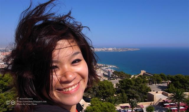 Hola Alicante~ 阿利坎特。地中海的熱度 Castillo de Santa Barbara 聖巴巴拉城   R1043702