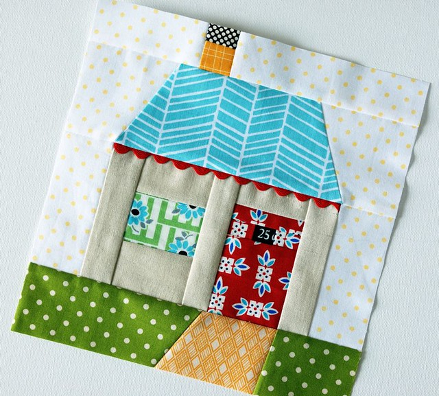 Paper Pieced House Flickr Photo Sharing