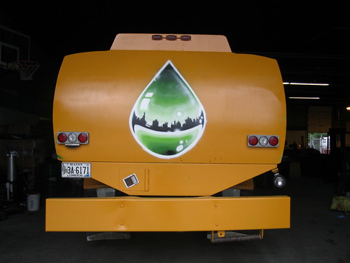 http://www.mikerichdesign.com/   fuel truck rear for http://www.mainestandardbiofuels.com/ by Muy Rico