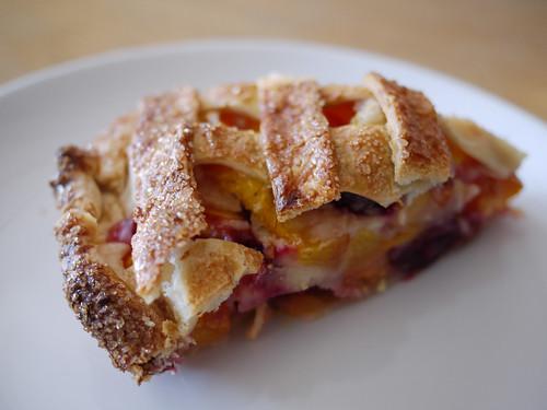 07-25 Peach Cherry Bourbon Pie