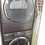 Large capacity washer and dryer in apartment