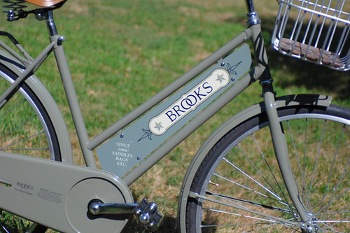 Brooks '2-Wheel Display'