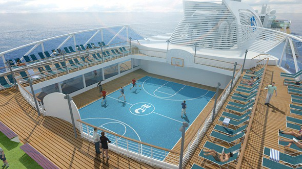 royal princess center court
