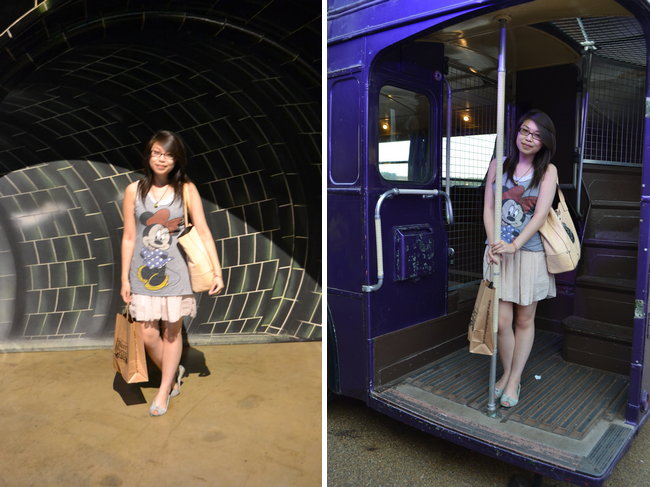 daisybutter - UK Style and Fashion Blog: what i wore, wiwt, ootd, harry potter studio tour, hogwarts, WB studio tour