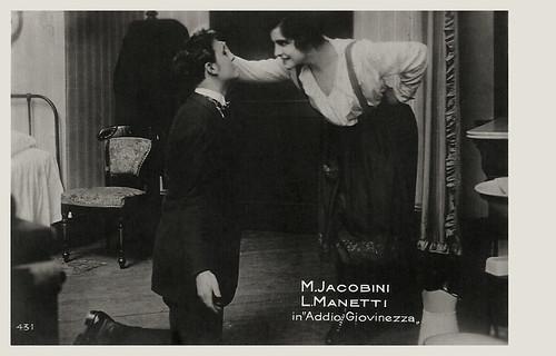 European Film Star Postcards Maria Jacobini