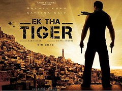 [Poster for Ek Tha Tiger]