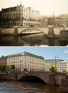 Gothenburg, Inom Vallgraven 1930 / 2012