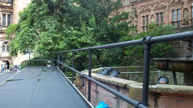 Heidelberg Castle Stage Railing