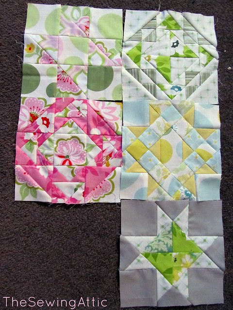 Farmers Wife Blocks 21 - 25