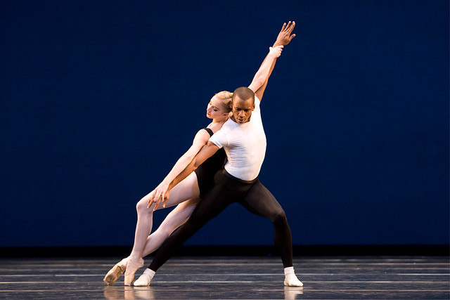 Nathalie Harrison and Eric Underwood in Agon ©Bill Cooper/ROH 2009