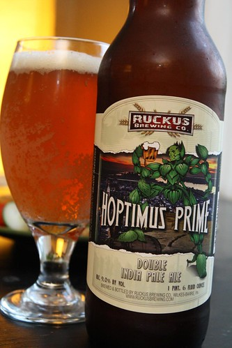 Ruckus Brewing Co. Hoptimus Prime