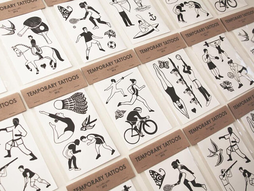 Lydia Leith temporary tattoos