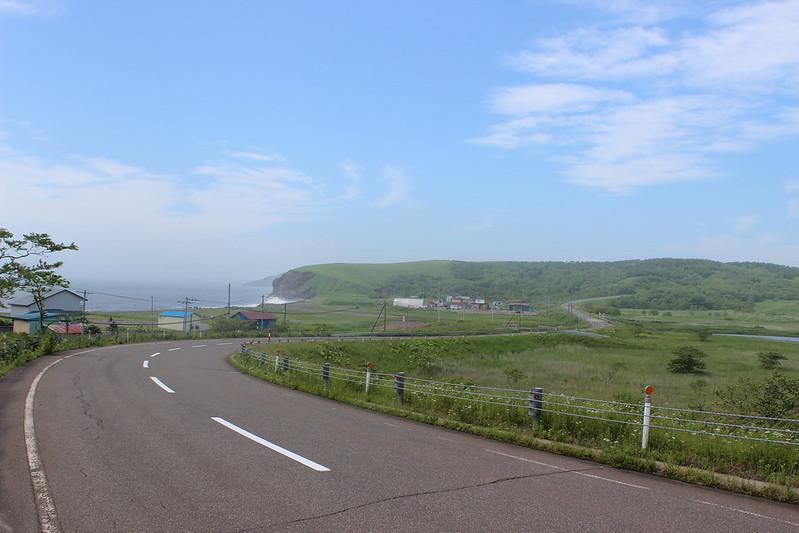 北太平洋シーサイドラインからの景色