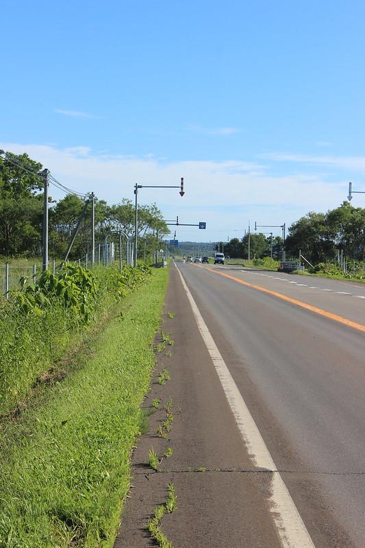 厚岸から釧路へ向かう道