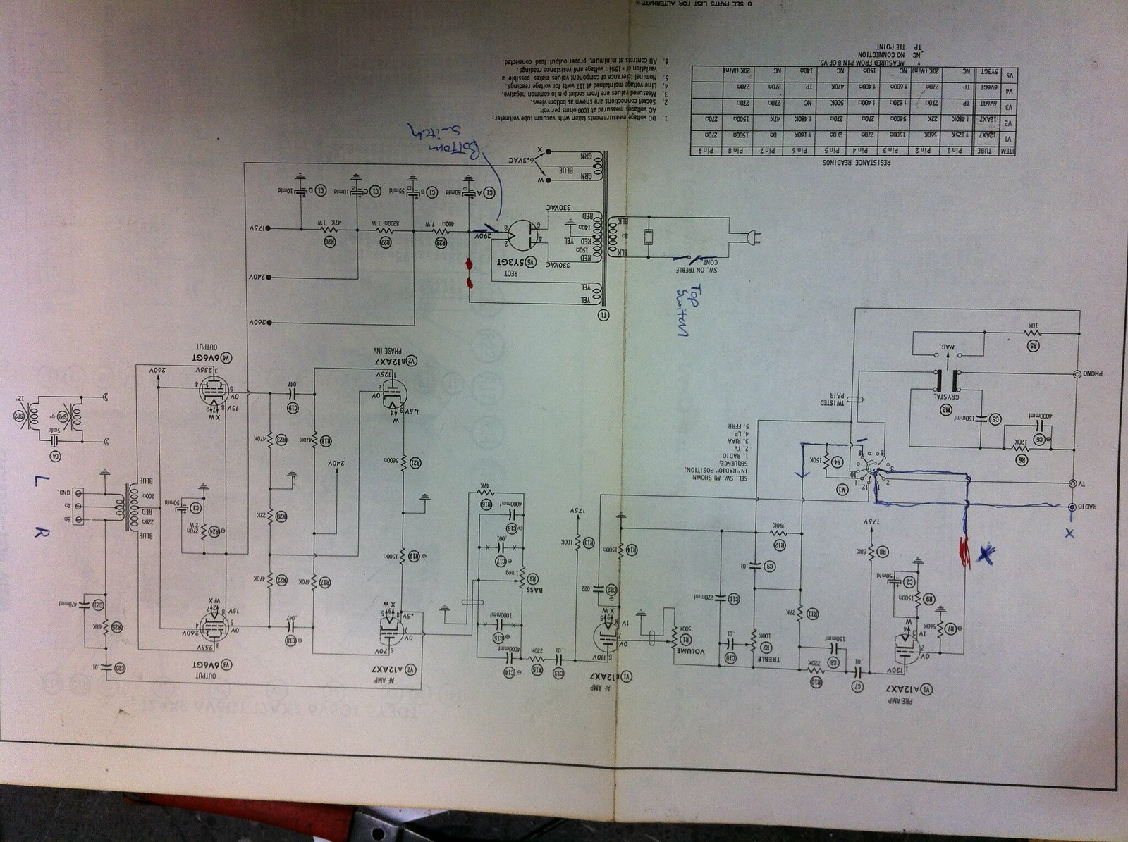 Whitley Pa Guitar Conversion Diyaudio I M506 Wiring Diagram Click The Image To Open In Full Size