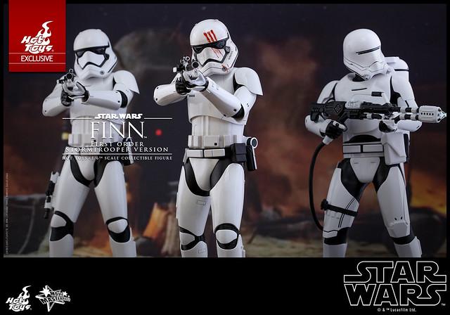 Hot Toys – MMS367 – STAR WARS:原力覺醒【芬恩。血手印白兵版】Finn First Order Stormtrooper Ver. 1/6 比例人偶作品