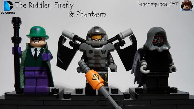 The Riddler, Firefly & Phantasm