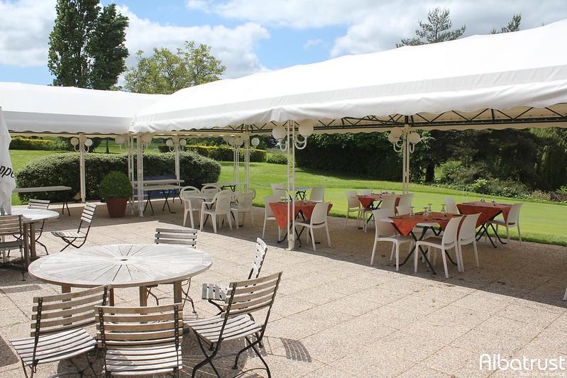 photo du golf Golf De La Forteresse - Parking