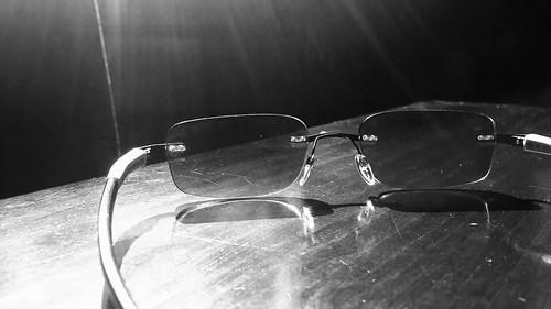 Sunglasses at night....