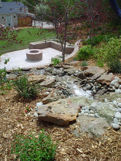 Fire Pit And Waterfall Flickr Photo Sharing