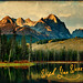 Sunrise on Little Redfish Lake (Idaho Postcard)