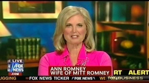Ann Romney in a screenshot from Fox News