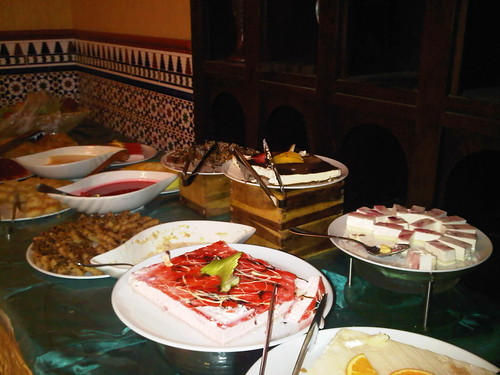 Mekah Dessert Table