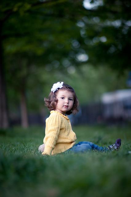 Zoe at the park