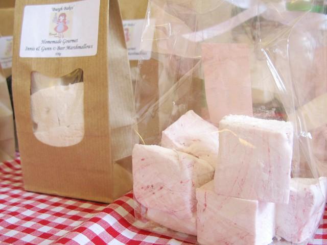 The Marshmallow Lady, Burgh Bakes at The Market, April 28th 2012   Emma Lamb